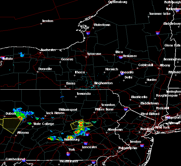Radar Image for Severe Thunderstorms near Hometown, PA at 6/11/2015 6:06 PM EDT