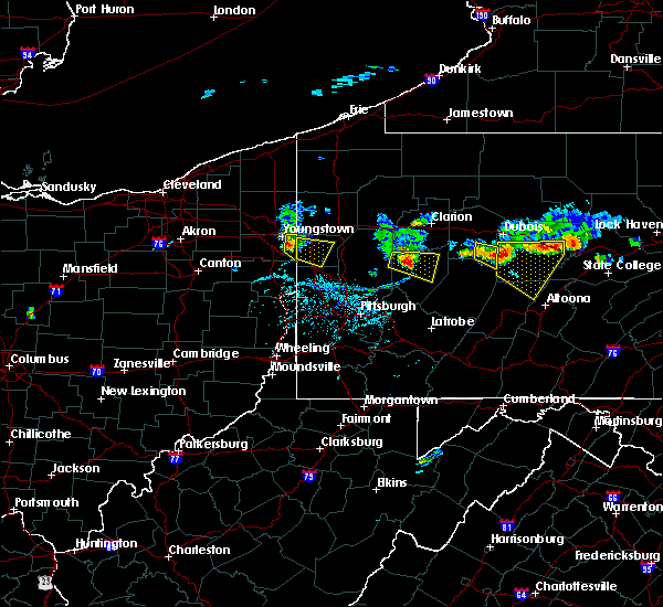 Radar Image for Severe Thunderstorms near Kittanning, PA at 6/11/2015 6:11 PM EDT