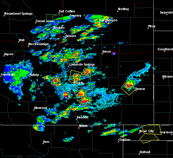 Radar Image for Severe Thunderstorms near Wiley, CO at 6/11/2015 4:18 PM MDT