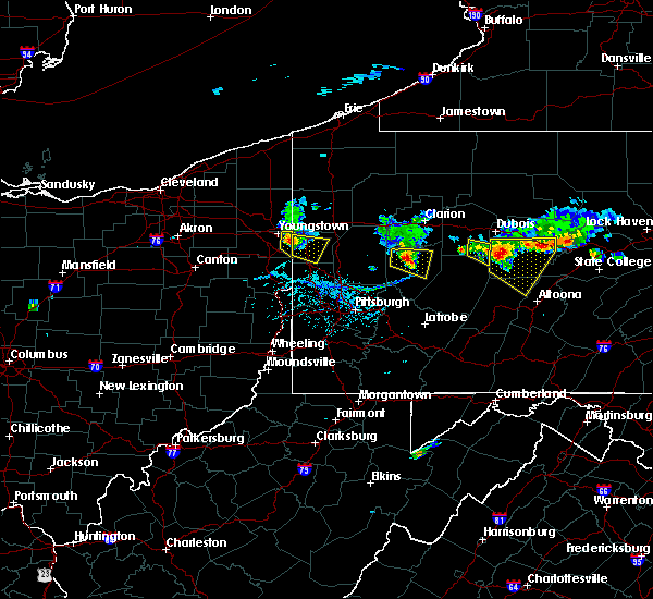 Radar Image for Severe Thunderstorms near Smicksburg, PA at 6/11/2015 6:18 PM EDT