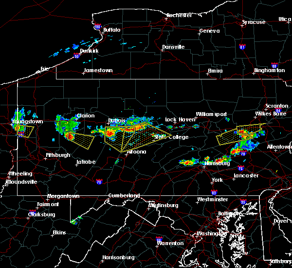 Radar Image for Severe Thunderstorms near Timber Hills, PA at 6/11/2015 6:21 PM EDT