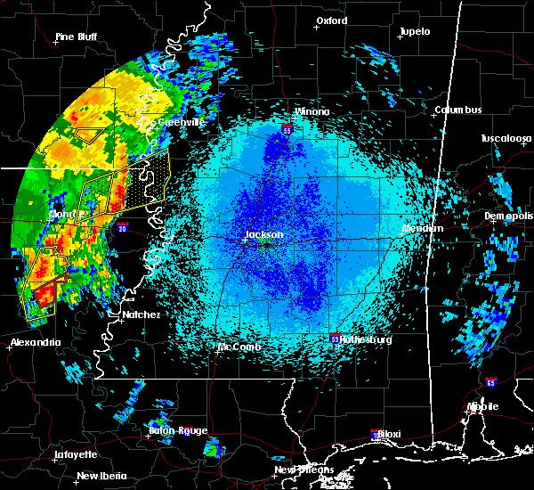 Radar Image for Severe Thunderstorms near Oak Ridge, LA at 4/25/2019 3:24 AM CDT