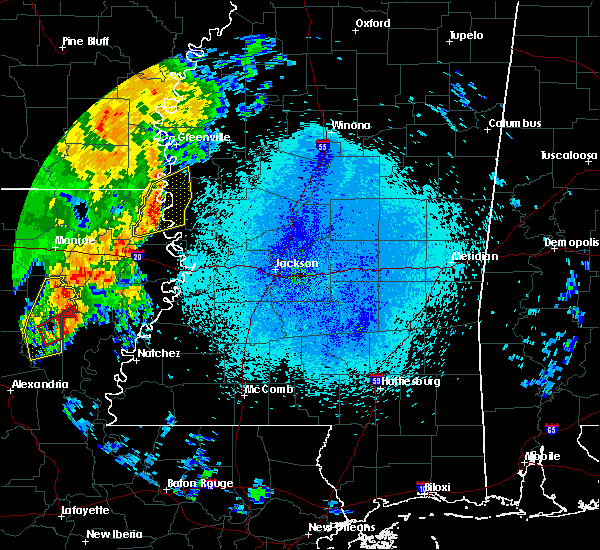 Radar Image for Severe Thunderstorms near Lake Providence, LA at 4/25/2019 3:35 AM CDT