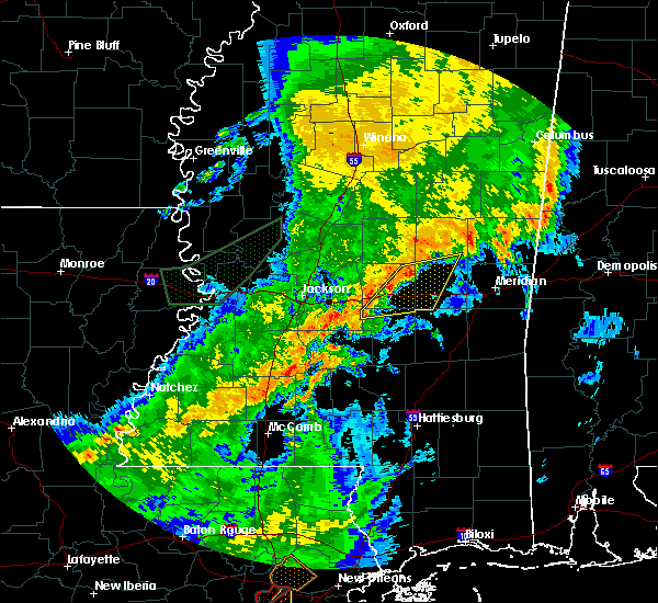 Radar Image for Severe Thunderstorms near Polkville, MS at 4/25/2019 9:41 AM CDT