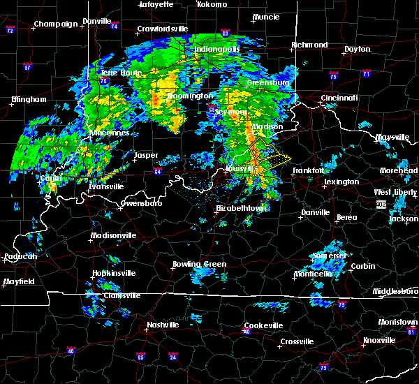 Radar Image for Severe Thunderstorms near Campbellsburg, KY at 4/25/2019 7:29 PM EDT