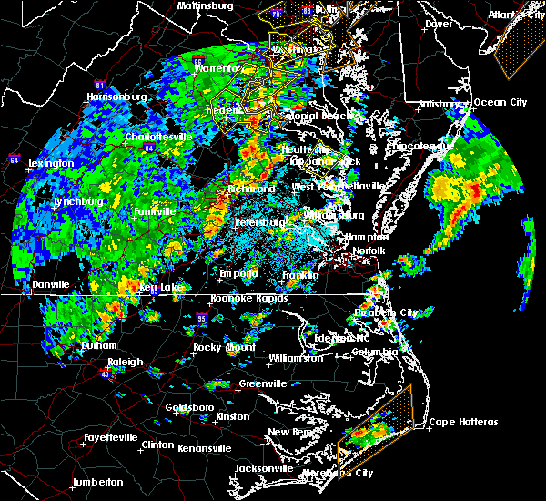 Radar Image for Severe Thunderstorms near Heathsville, VA at 4/26/2019 3:03 PM EDT