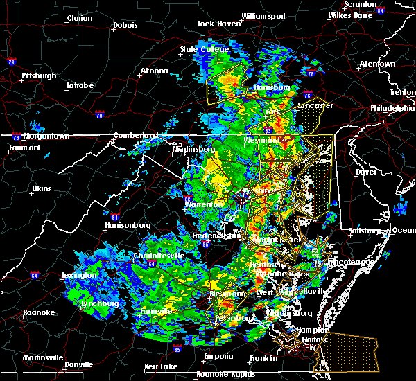 Radar Image for Severe Thunderstorms near Pylesville, MD at 4/26/2019 3:37 PM EDT