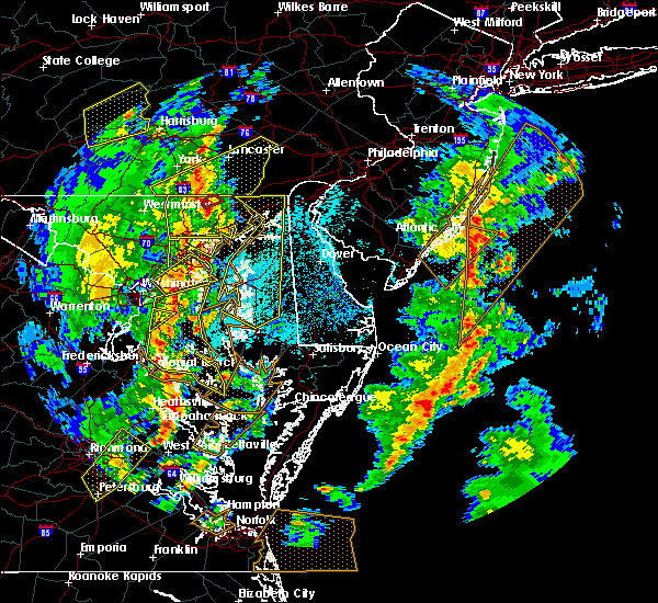 Radar Image for Severe Thunderstorms near Georgetown, MD at 4/26/2019 3:38 PM EDT