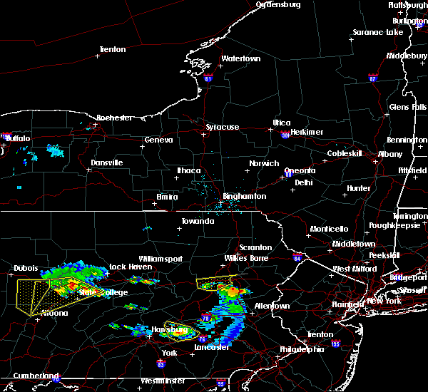 Radar Image for Severe Thunderstorms near East Side, PA at 6/11/2015 6:50 PM EDT