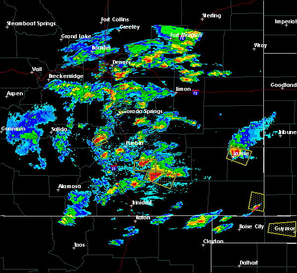 Radar Image for Severe Thunderstorms near Brookside, CO at 6/11/2015 5:02 PM MDT