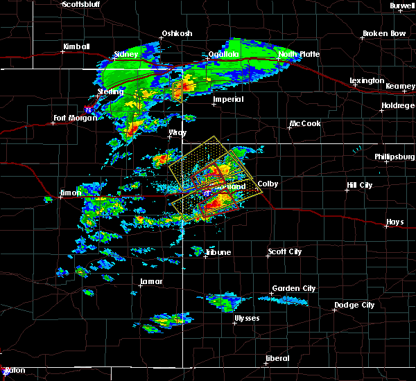 Radar Image for Severe Thunderstorms near Bird City, KS at 4/28/2019 4:44 PM CDT