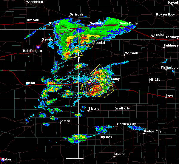Radar Image for Severe Thunderstorms near Bird City, KS at 4/28/2019 5:05 PM CDT