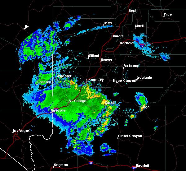 Radar Image for Severe Thunderstorms near Enoch, UT at 4/29/2019 7:46 PM MDT
