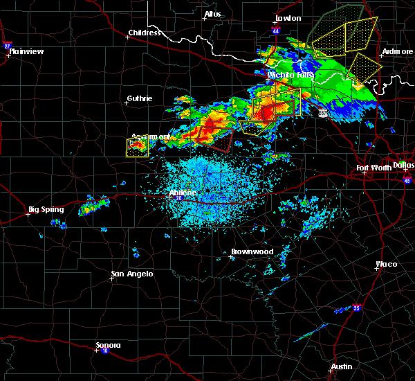 Radar Image for Severe Thunderstorms near Aspermont, TX at 5/1/2019 3:48 PM CDT