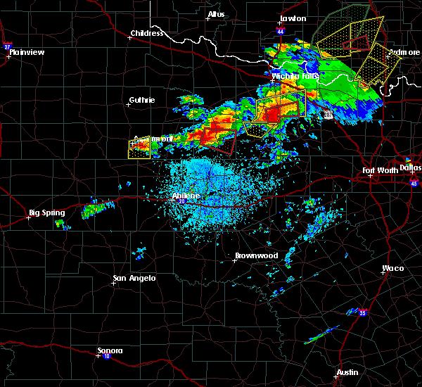 Radar Image for Severe Thunderstorms near Aspermont, TX at 5/1/2019 3:57 PM CDT