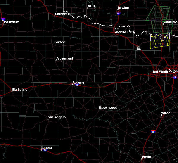 Radar Image for Severe Thunderstorms near Aspermont, TX at 5/1/2019 7:31 PM CDT
