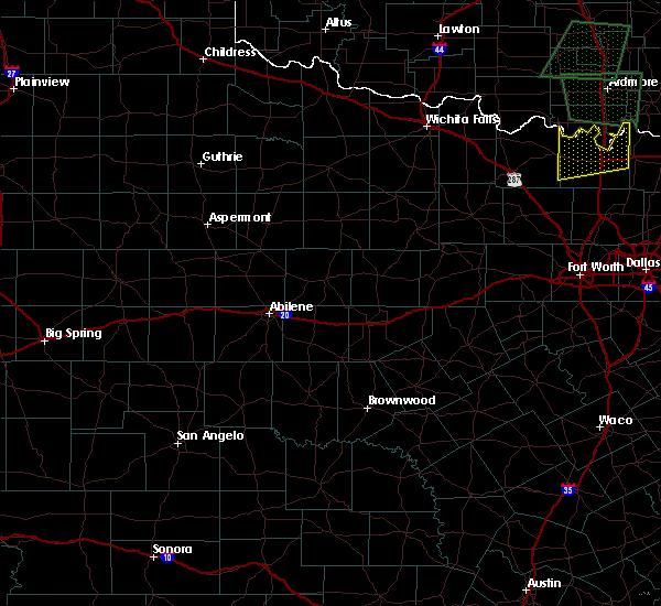 Radar Image for Severe Thunderstorms near Aspermont, TX at 5/1/2019 7:33 PM CDT