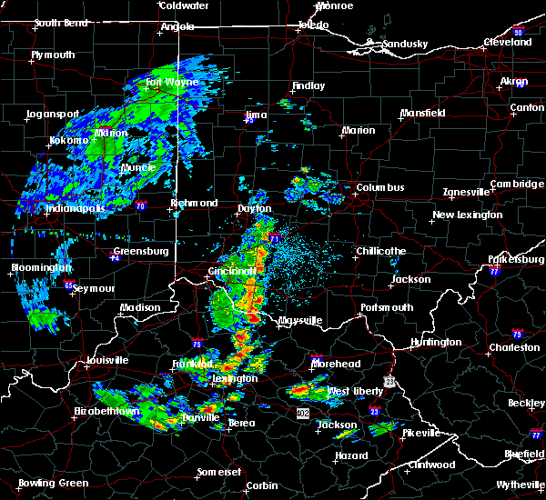 Radar Image for Severe Thunderstorms near Ripley, OH at 5/2/2019 3:03 PM EDT