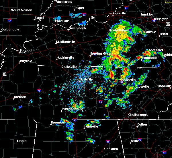 Radar Image for Severe Thunderstorms near Gainesboro, TN at 5/2/2019 2:17 PM CDT
