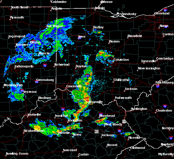 Radar Image for Severe Thunderstorms near Ripley, OH at 5/2/2019 3:19 PM EDT