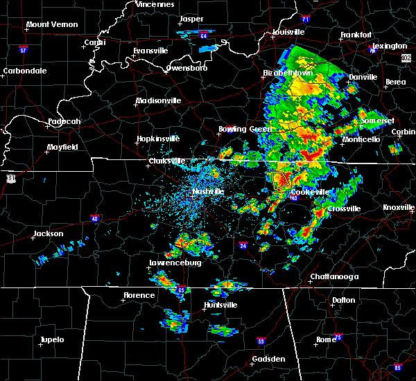 Radar Image for Severe Thunderstorms near Gainesboro, TN at 5/2/2019 2:35 PM CDT