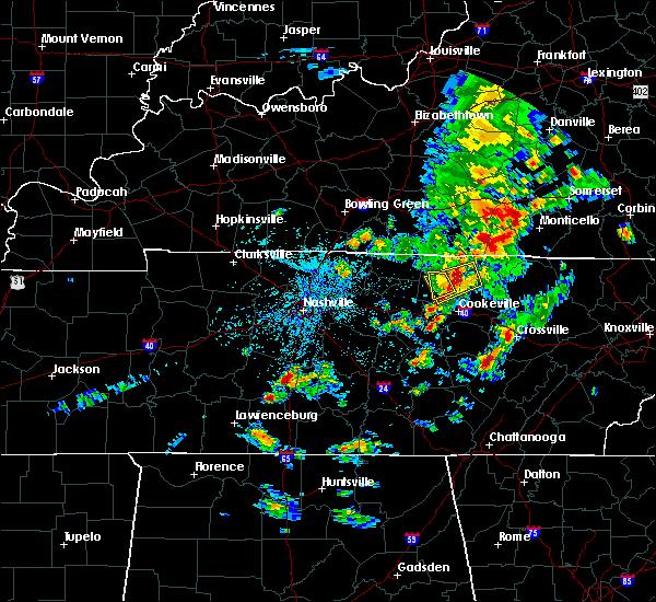Radar Image for Severe Thunderstorms near Livingston, TN at 5/2/2019 2:41 PM CDT