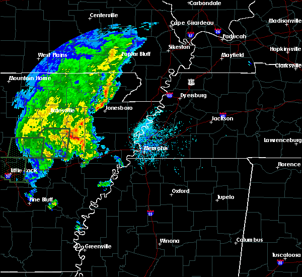Radar Image for Severe Thunderstorms near Newport, AR at 5/2/2019 3:35 PM CDT