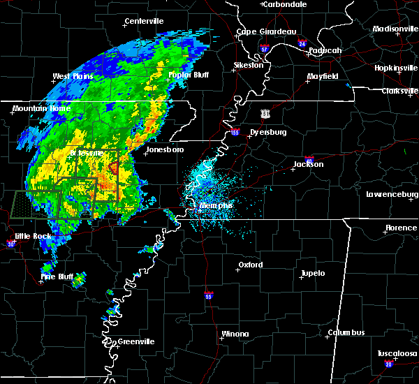 Radar Image for Severe Thunderstorms near Grubbs, AR at 5/2/2019 3:47 PM CDT