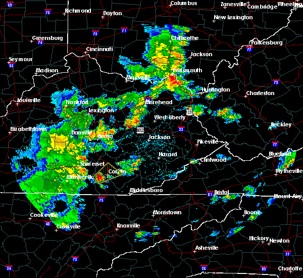 Radar Image for Severe Thunderstorms near London, KY at 5/2/2019 4:52 PM EDT