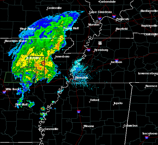 Radar Image for Severe Thunderstorms near Grubbs, AR at 5/2/2019 3:56 PM CDT