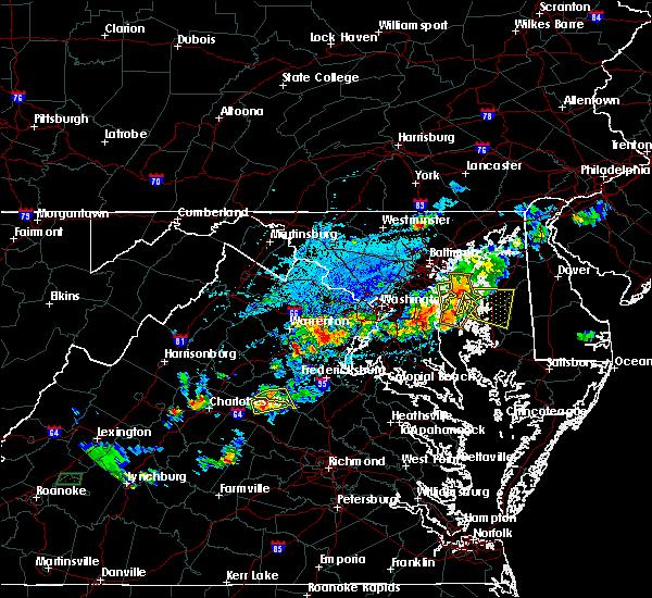 Radar Image for Severe Thunderstorms near Louisa, VA at 5/2/2019 5:09 PM EDT