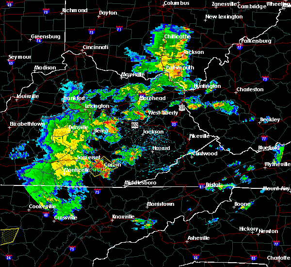 Radar Image for Severe Thunderstorms near London, KY at 5/2/2019 5:12 PM EDT