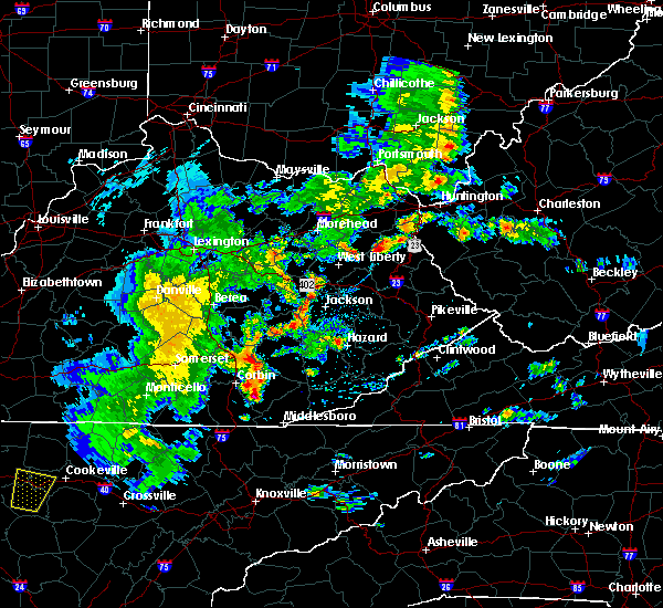 Radar Image for Severe Thunderstorms near Jackson, KY at 5/2/2019 5:41 PM EDT