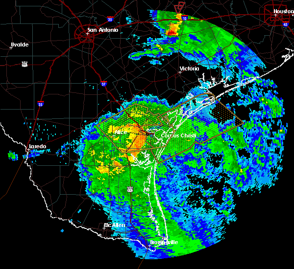 Radar Image for Severe Thunderstorms near Corpus Christi, TX at 5/3/2019 9:05 AM CDT