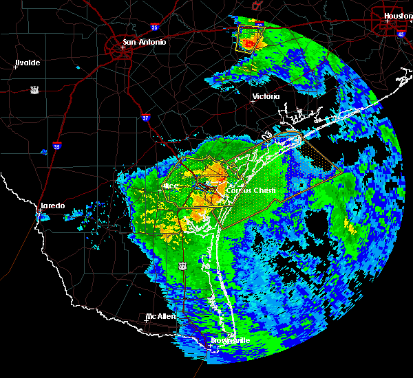 Radar Image for Severe Thunderstorms near Corpus Christi, TX at 5/3/2019 9:28 AM CDT