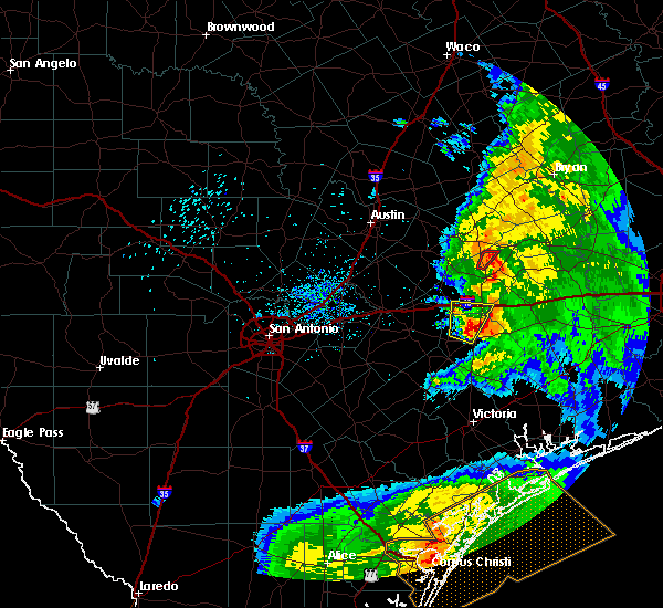 Radar Image for Severe Thunderstorms near Hallettsville, TX at 5/3/2019 9:40 AM CDT
