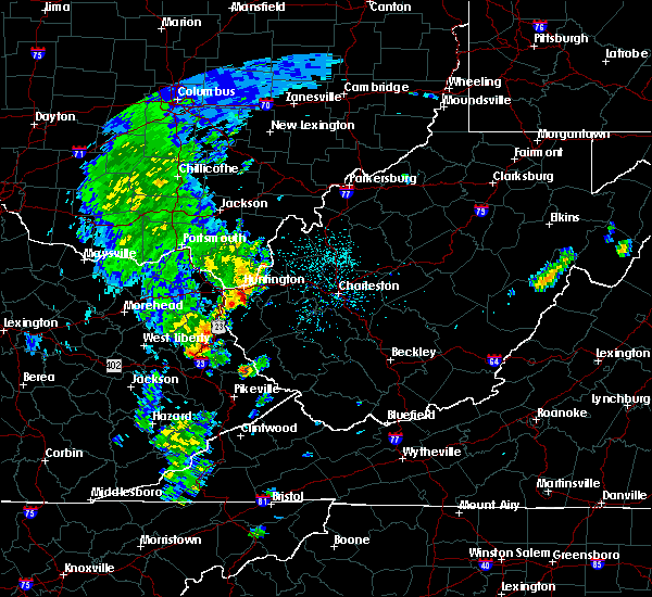 Radar Image for Severe Thunderstorms near Huntington, WV at 5/3/2019 1:09 PM EDT
