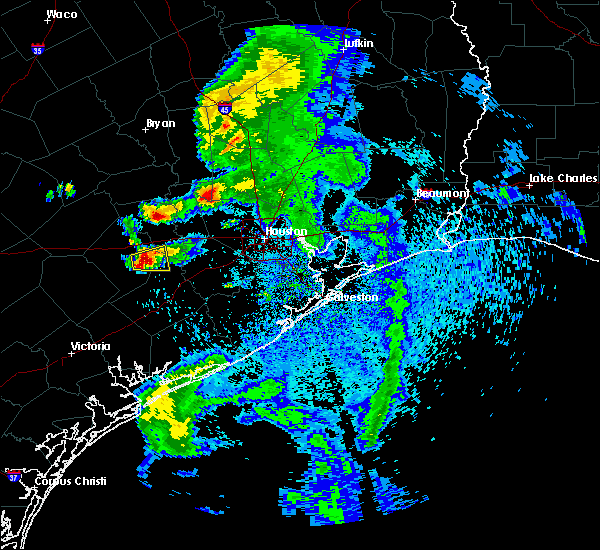 Radar Image for Severe Thunderstorms near Magnolia, TX at 5/3/2019 1:15 PM CDT