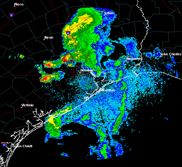 Radar Image for Severe Thunderstorms near Orchard, TX at 5/3/2019 1:27 PM CDT