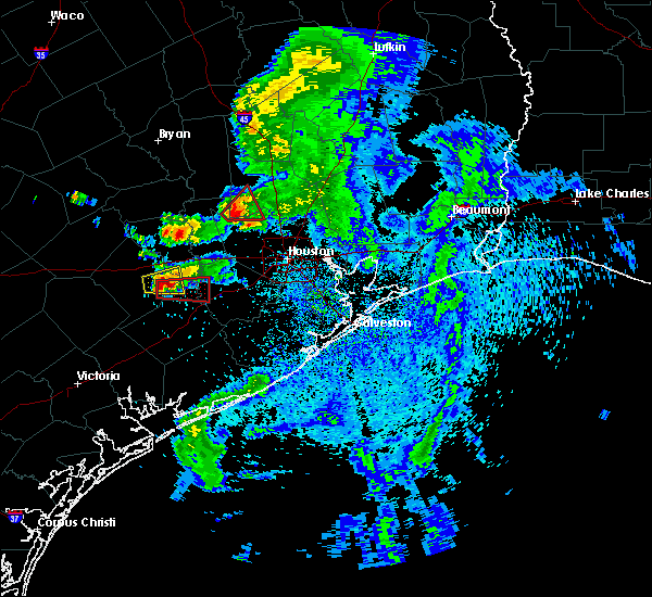 Radar Image for Severe Thunderstorms near Orchard, TX at 5/3/2019 1:40 PM CDT