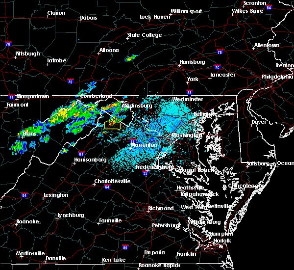 Radar Image for Severe Thunderstorms near Winchester, VA at 5/3/2019 4:01 PM EDT