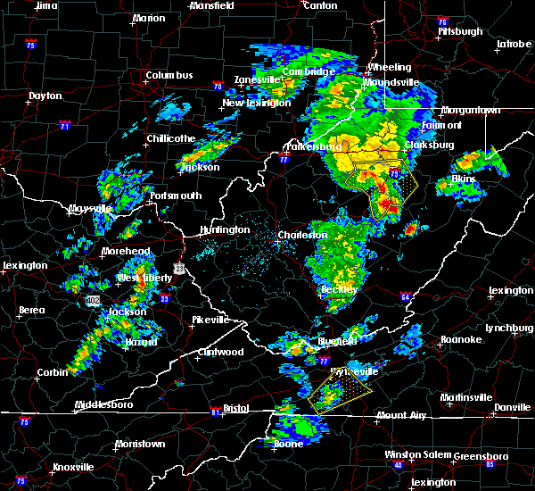 Radar Image for Severe Thunderstorms near Dailey, WV at 5/3/2019 4:26 PM EDT