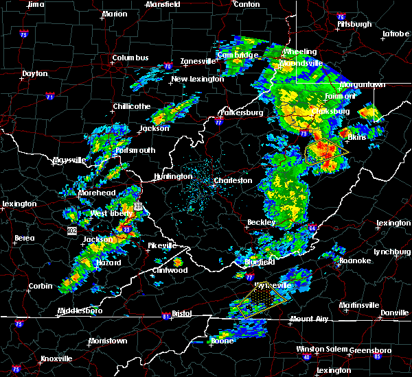Radar Image for Severe Thunderstorms near Dailey, WV at 5/3/2019 4:59 PM EDT