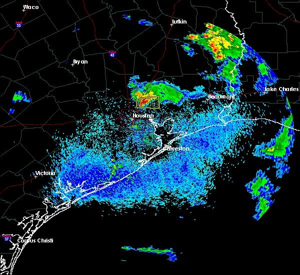 Radar Image for Severe Thunderstorms near Houston, TX at 5/3/2019 4:15 PM CDT