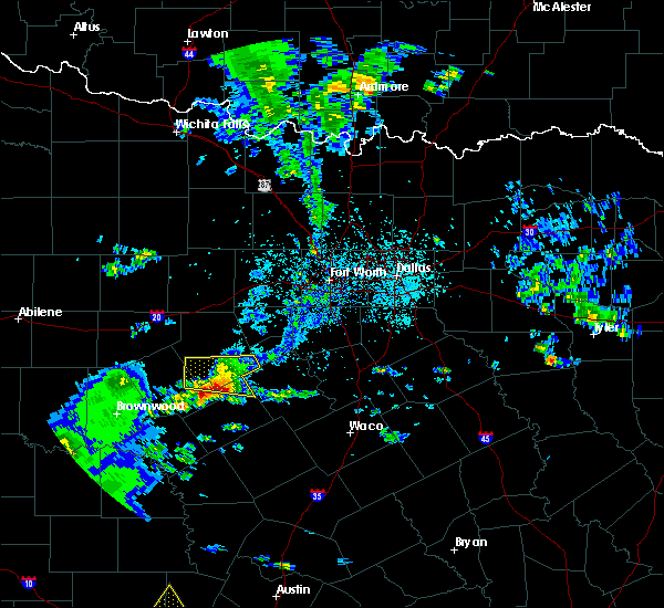 Radar Image for Severe Thunderstorms near Hico, TX at 5/3/2019 5:14 PM CDT