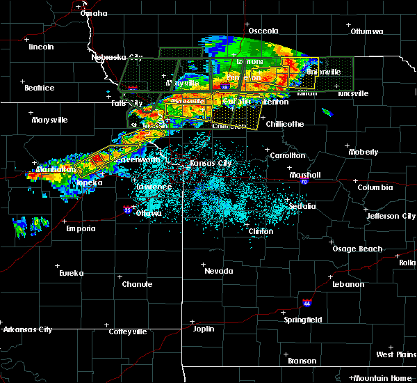 Radar Image for Severe Thunderstorms near De Kalb, MO at 6/11/2015 7:48 PM CDT
