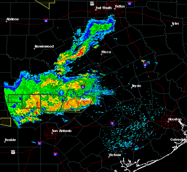 Radar Image for Severe Thunderstorms near Gatesville, TX at 5/3/2019 6:52 PM CDT