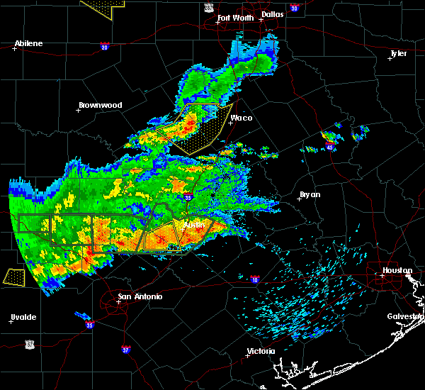 Radar Image for Severe Thunderstorms near Gatesville, TX at 5/3/2019 7:15 PM CDT