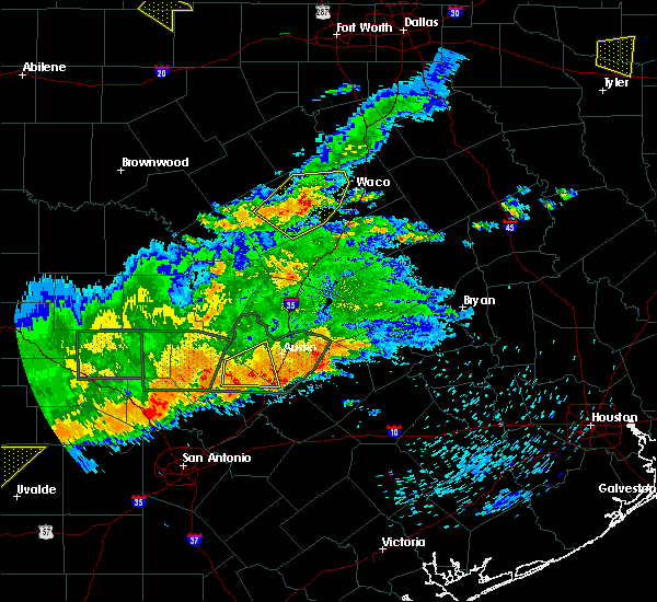 Radar Image for Severe Thunderstorms near Gatesville, TX at 5/3/2019 7:38 PM CDT