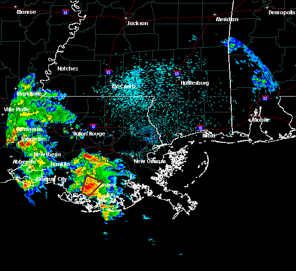 Radar Image for Severe Thunderstorms near Dulac, LA at 5/4/2019 4:46 AM CDT